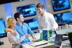 Consumers Shopping - E-commerce Fulfillment
