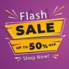 Flash sale graphic